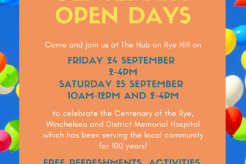 Open Days poster